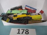 HO Scale train car lot