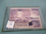 Babe Ruth 3D card
