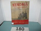 1947 Kendall Oil Farm book