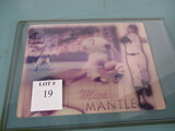 Mickey Mantle 3D card