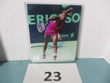 Serena Williams signed phot