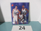 Mike Miller, Tracy McGrady, Grant Hill signed photo