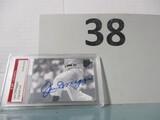 Joe DiMaggio signed cut