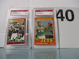 Lot of 2 Football cards