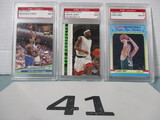 Lot of 3 Basketball cards
