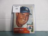 1953 Topps Johnny Mize