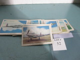 1941 Wings cigarettes airplane cards
