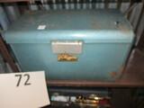 JC Higging vintage metal cooler