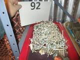 Lot of peg board hooks