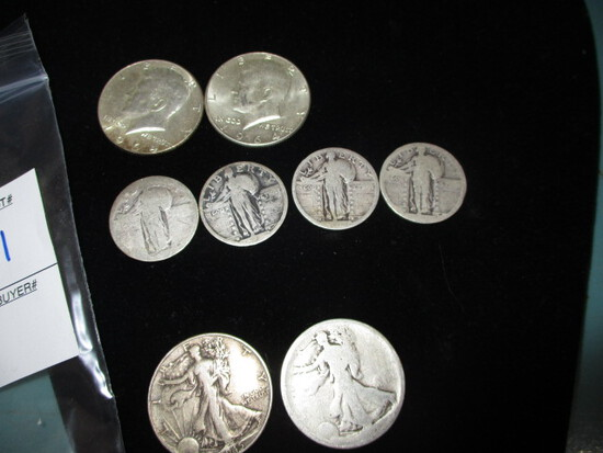 3.00 Face Value 90% silver US coins