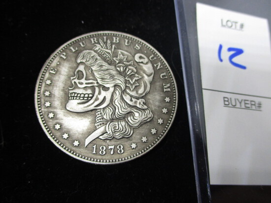 Hobo novelty Morgan dollar