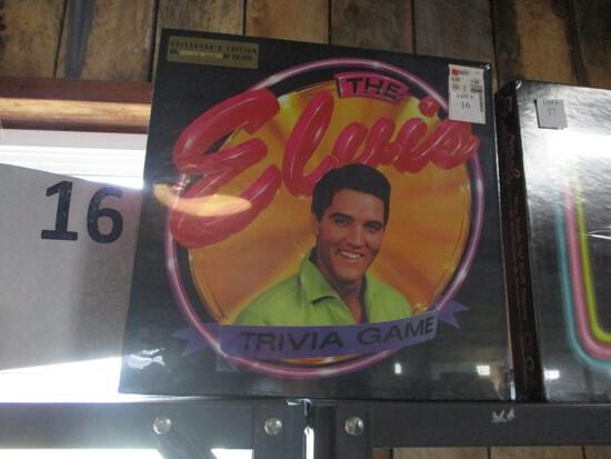 Elvis Trivia game sealed