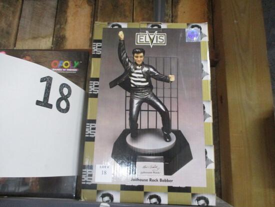 Elvis Jailhouse Rock Bbber figurine