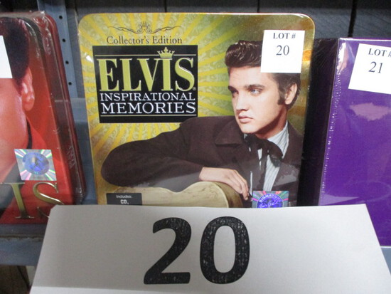Elvis Cd's and DVD's sealed
