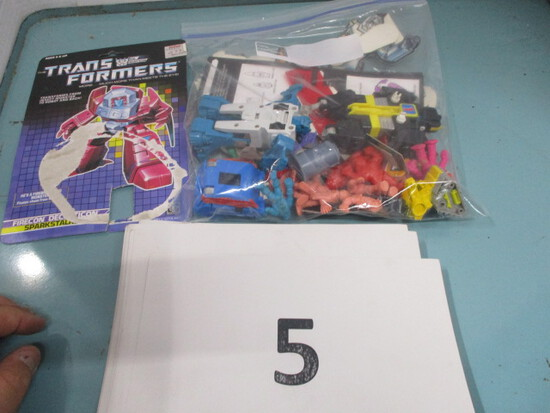 Lot of transformers and other toys