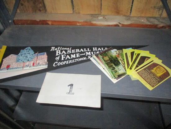 Baseball Hall of Fame Lot