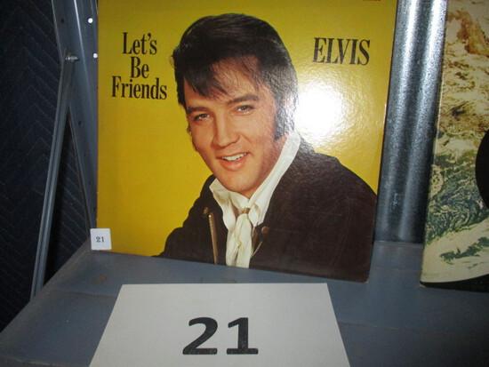 Elvis Presley LP Record