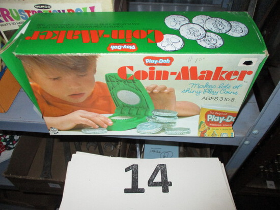 Play Doh Coin Maker