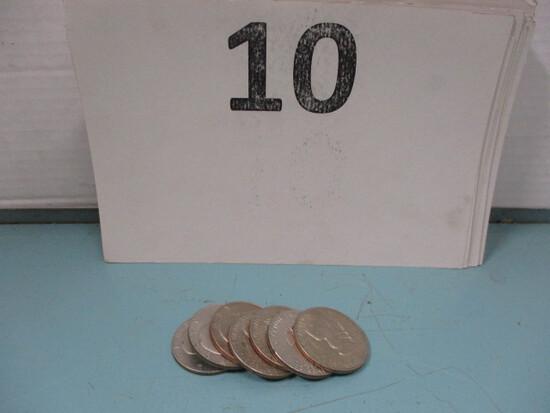 7- 1978 Eisenhower Dollars