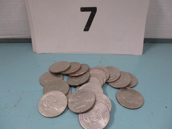 20- 1976 Eisenhower dollars