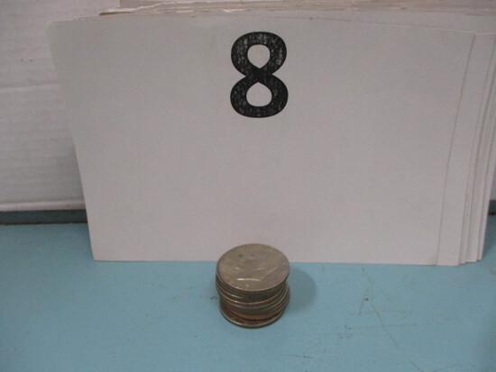 10 1977 Eisenhower dollars