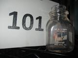 Woodson Dairy Milk Bottle