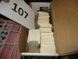 Approx 500 1981 Donruss Baseball cards