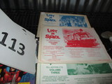 Lost in Space blue prints