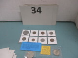 Foreign coin lot of 10