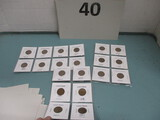 lot of 20 Older wheat pennies