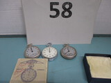 Lot of 3 stopwatches (as-IS)