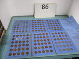 Lincoln cent collection 1909-