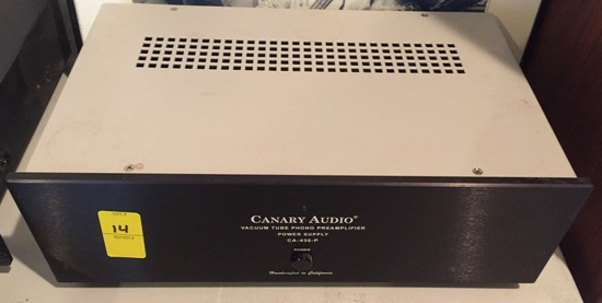 Canary Audio Phono Preamp Power Supply CA-430-P