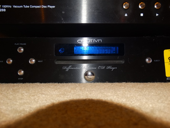 Emotiva Differential Reference CD Player ERC-2 w/Remote