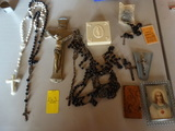 Lot of Religious Rosaries