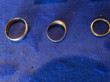 Gold bands (small size)