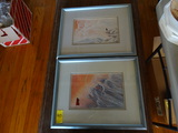 2pc. Flat Art (Framed)