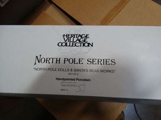 Dept. 56  The North Pole Series