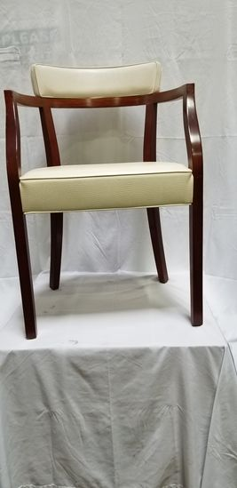 Uplustered Italian Dining Chair with Arms