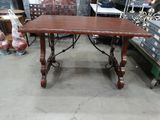 Metal Framed Mini Conference Table