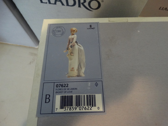 Llardo Statue - Basket Of Love
