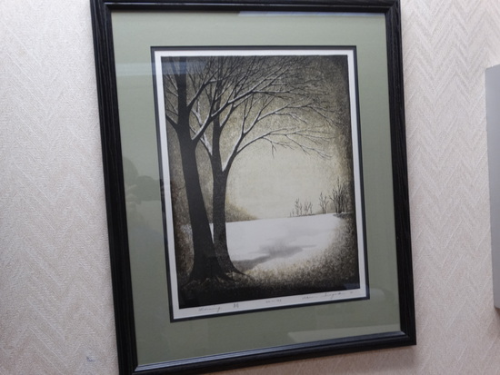 "Framed Print  ""MORNING"""