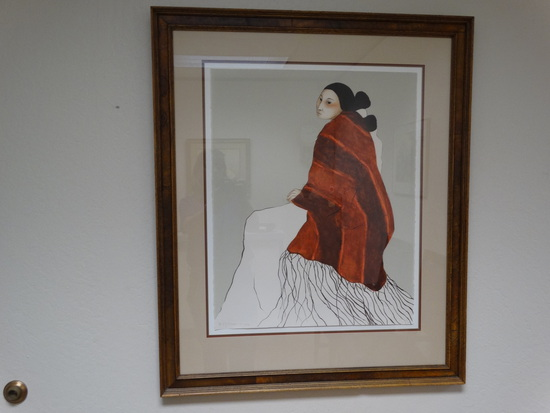 1978 R.C. Gorman Framed Lithograph