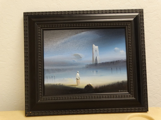 "Original Robert Watson Fine Art Oil  ""PATIENCE"""