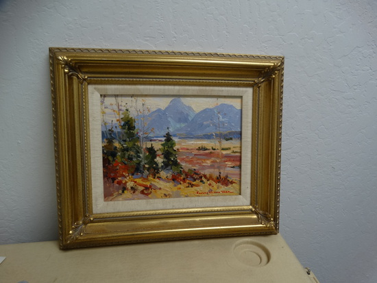 "Original Oil ""TETON Valley"""