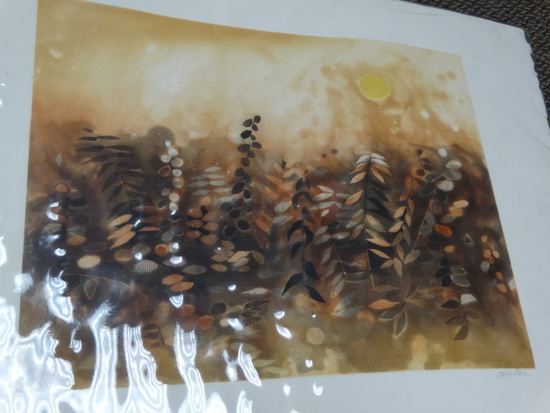 "Original Watercolor ""Mohawk Trail"""