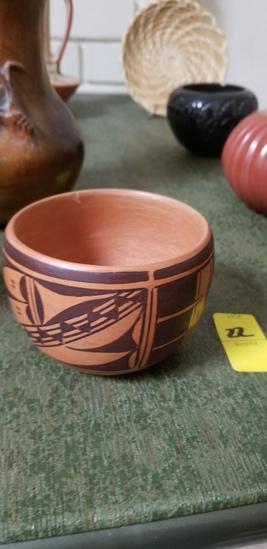 Hopi Red & Black Pot