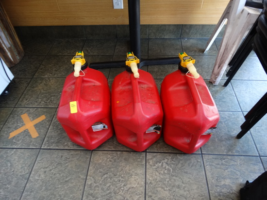 (2) 5 Gal. Gas cans