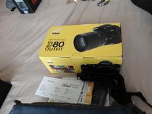NIKON D80 Digital Camera Kit