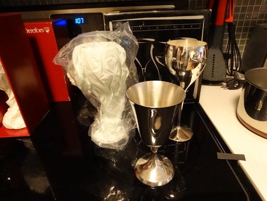 KIRKSTIEFF Stemmed wine cups